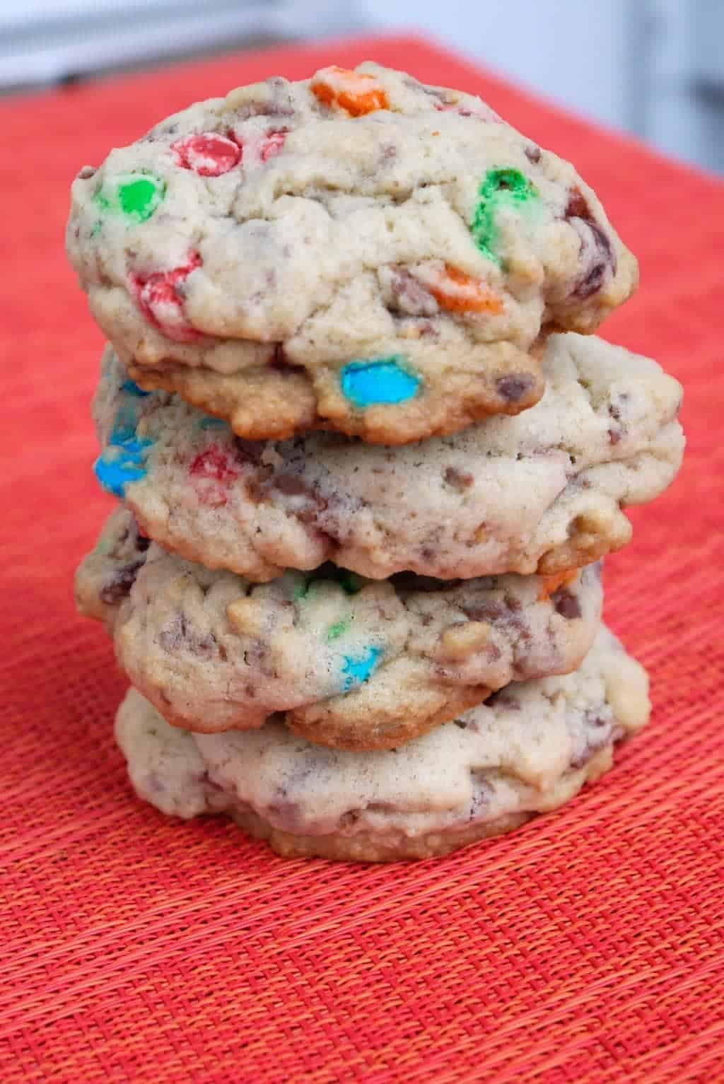 Leftover Candy Cookies