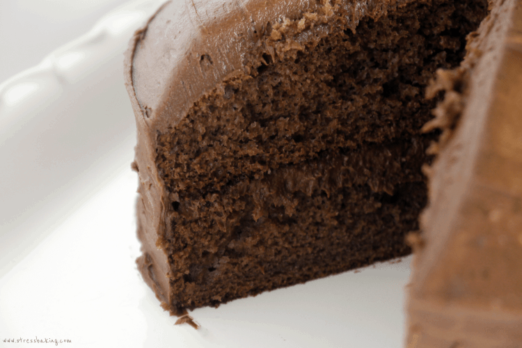 Homemade Portillo's Chocolate Cake Shake