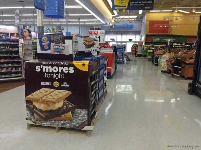 S'mores display at Walmart #shop #cbias
