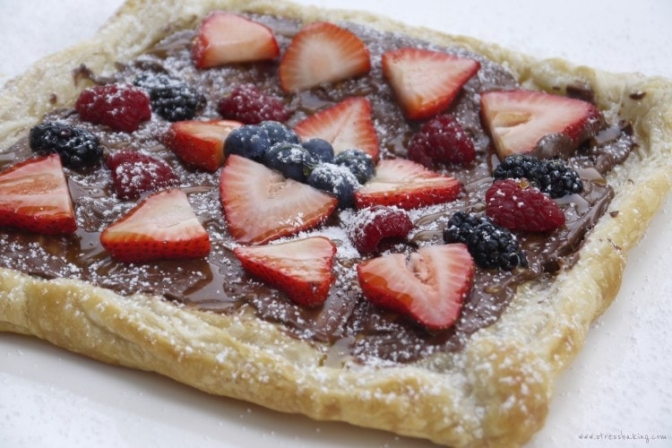 Nutella Fruit Tart