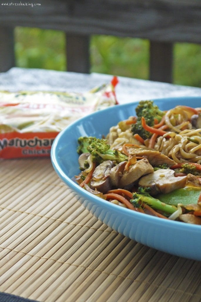 Chicken Ramen Stir Fry