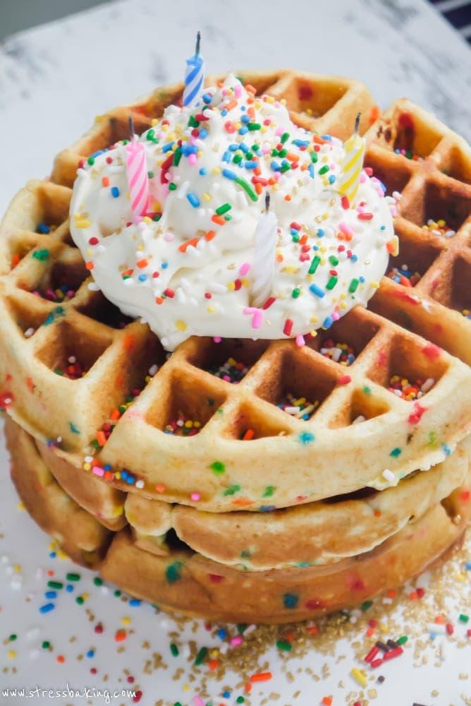 Funfetti Waffles