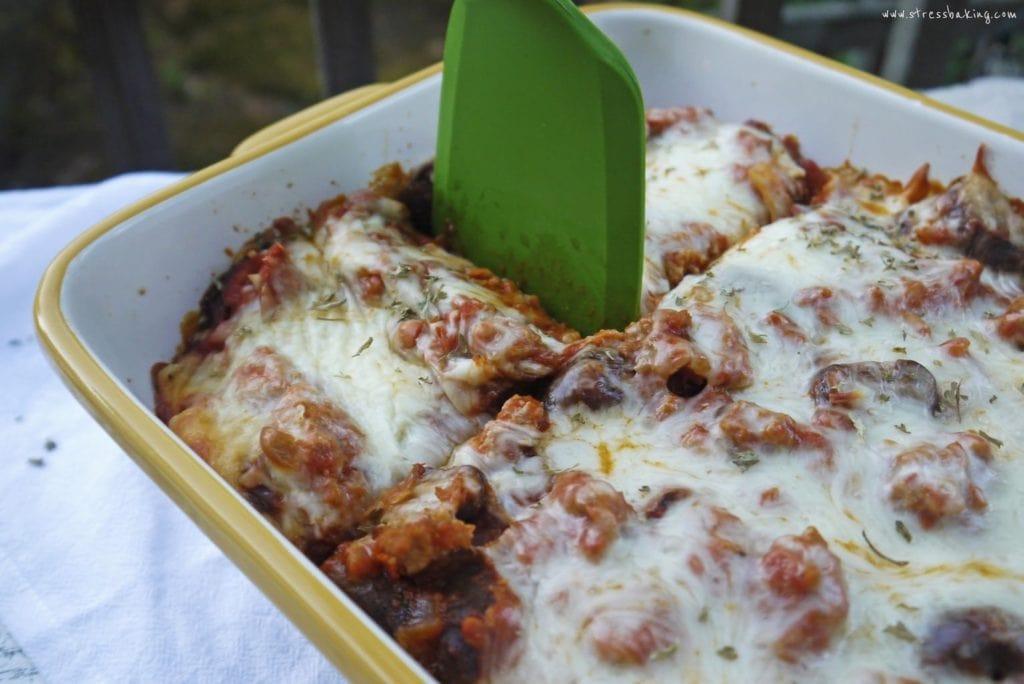 """Ramen """"Spaghetti"""" Bake"""