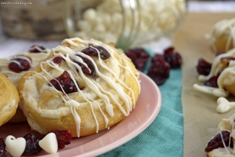 Cranberry Bliss Pinwheels