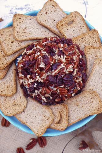 Cranberry Pecan Cheeseball