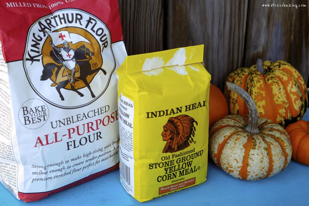 Indian Head Cornmeal and King Arthur Flour