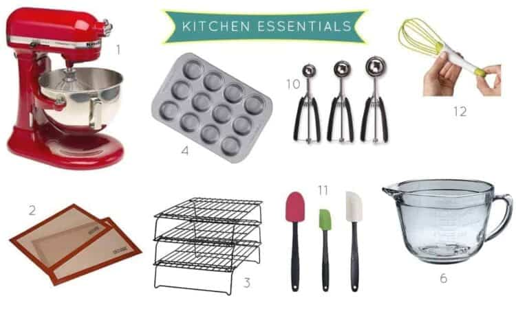 (stress)Baking Tips: Kitchen Essentials