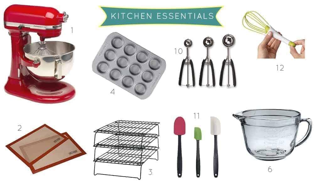 (stress)Baking Tips: Kitchen Essentials