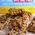 No-Bake Peanut Butter Cheerio Bars