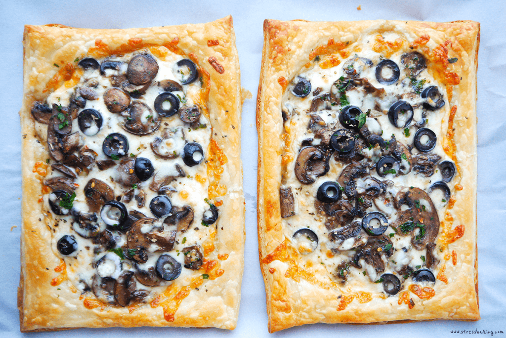 Easy Puff Pastry Pizza