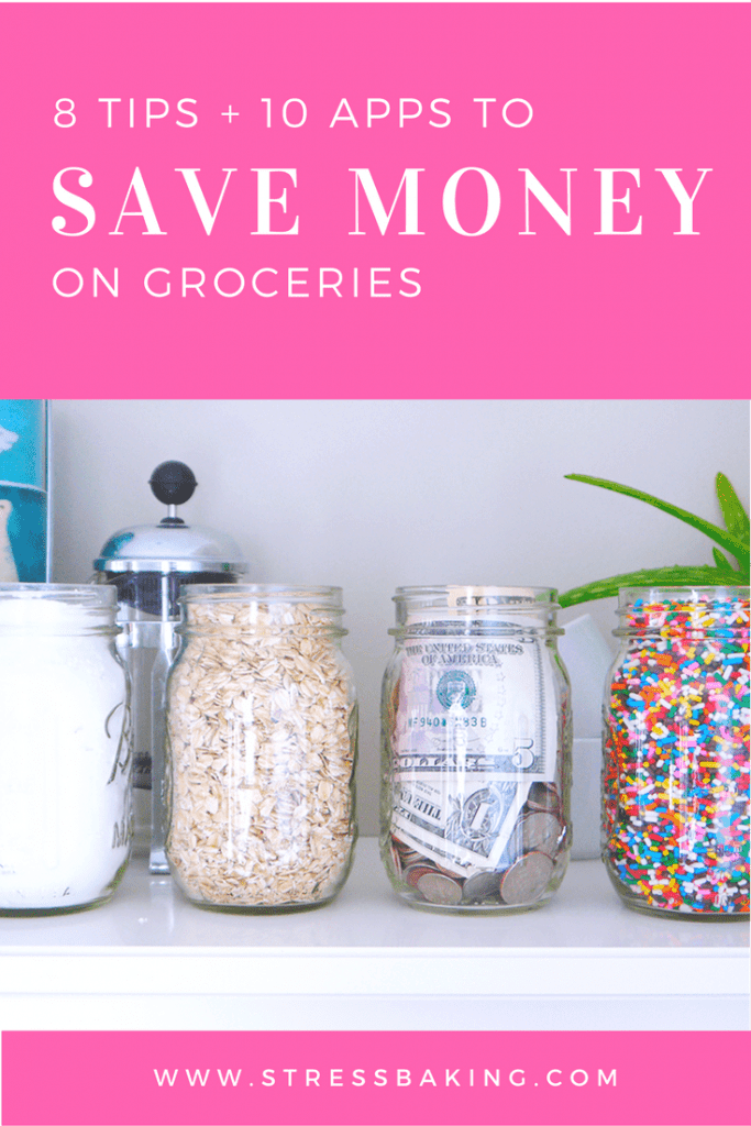 8 Tips and 10 Apps to Save Money on Groceries