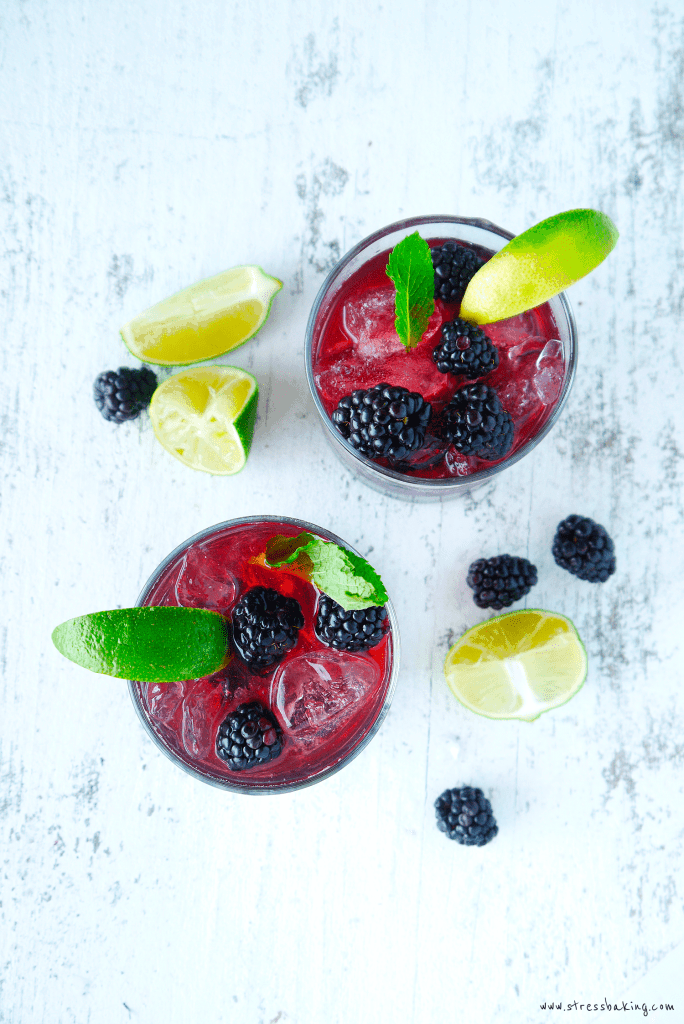 Blackberry Lime Mint Julep