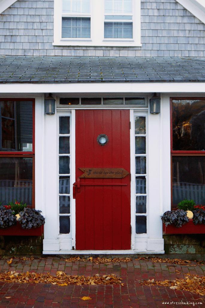 Front door of American Seasons