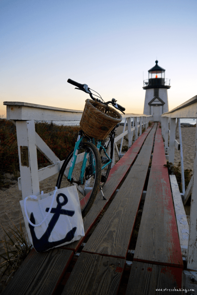 Brant Point Light with a bike