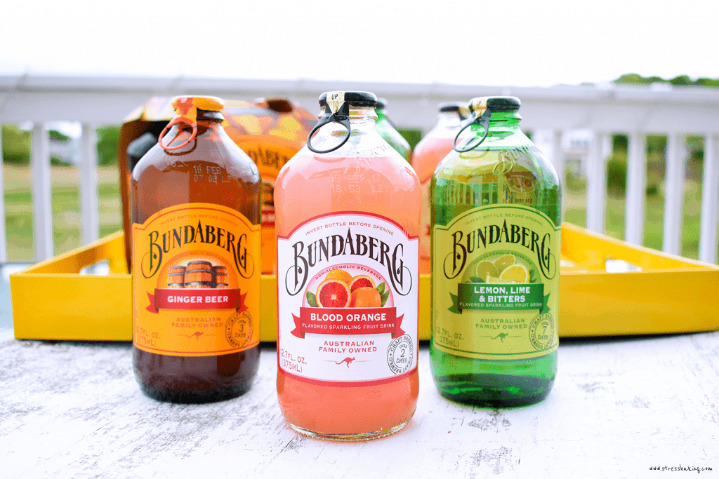 Blood Orange Sangria with Bundaberg Sparkling Beverages: A beautifully vibrant and delightfully fruity sangria made easy with Bundaberg Blood Orange Brewed Drink!Must be 21+ to enjoy. | stressbaking.com #ad