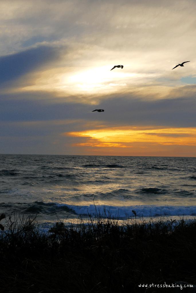 Madaket beach sunset