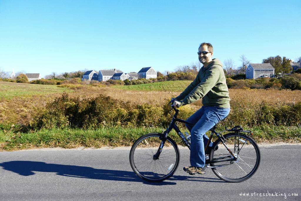 Biking around Nantucket