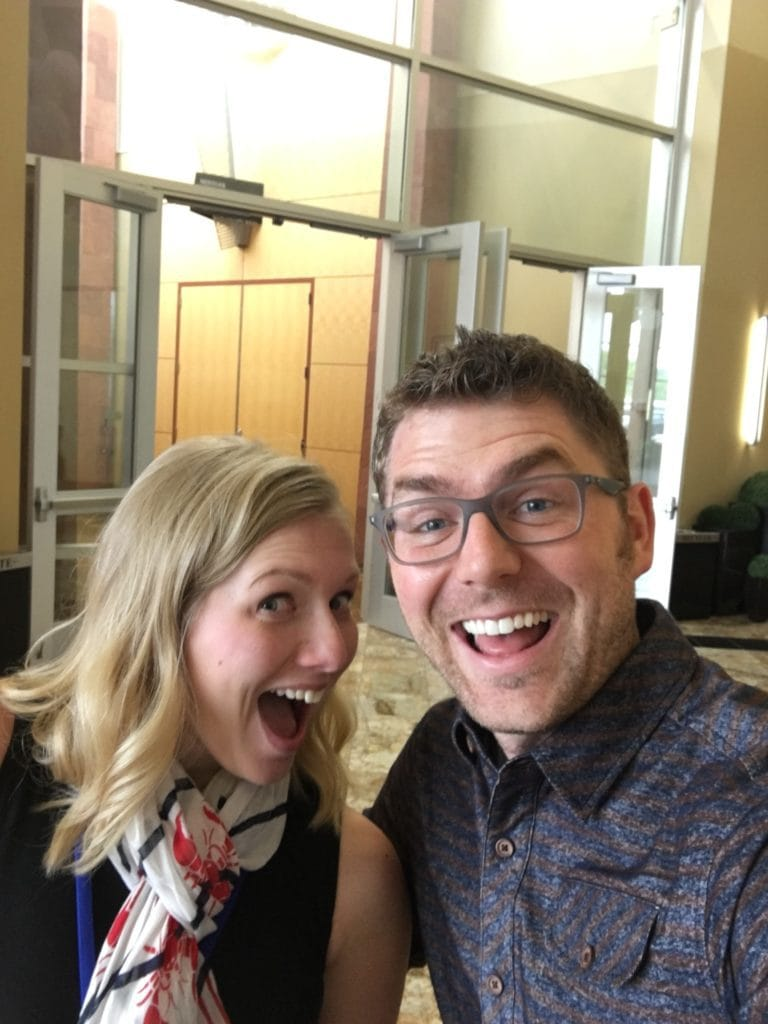 Leslie of Stress Baking and Bjork Ostrom of Pinch of Yum and Food Blogger Pro