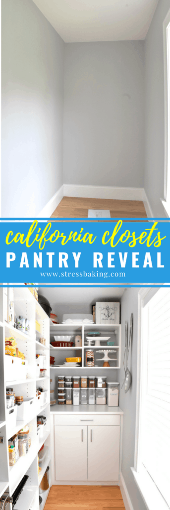 California Closets pantry reveal