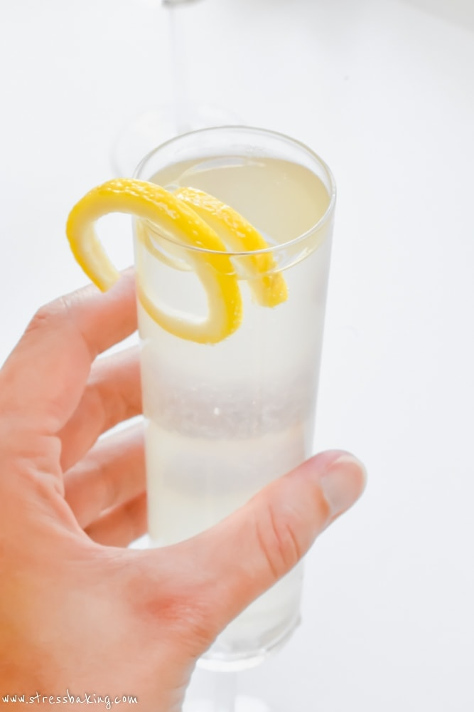 French 75 Cocktail | Stress Baking
