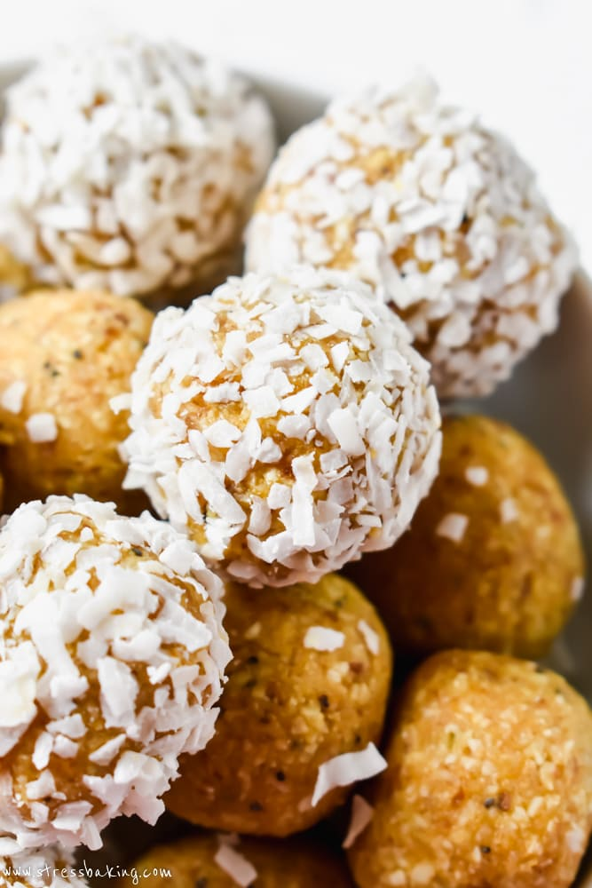 Coconut Lemon Poppy Seed Energy Bites