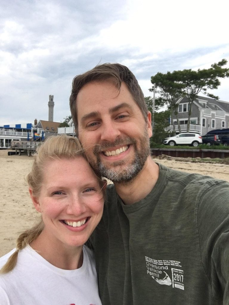Leslie and Bill in Provincetown